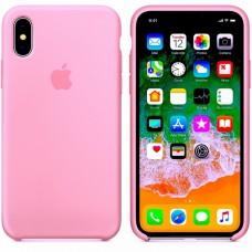 Силиконовый чехол Apple Silicone Case Pink для iPhone X /10/XS