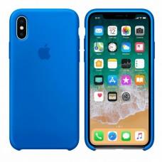 Силиконовый чехол Apple Silicone Case Royal Blue для iPhone Xs Max