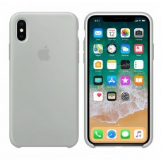 Силиконовый чехол Apple Silicone Case Stone для iPhone X /10/Xs