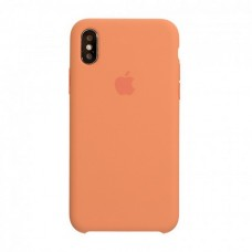Original Silicone Case Apple iPhone X Apple iPhone XS Peach