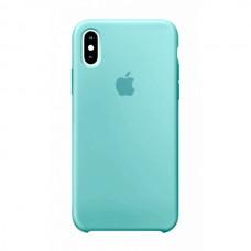 Силиконовый чехол Apple Silicone Case Mint для iPhone X /10 Xs