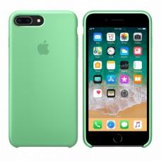 Силиконовый чехол Apple Silicone Case для iPhone 7 Plus / 8 Plus Green