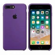 Силиконовый чехол Apple Silicone Case Purple для iPhone 7 Plus / 8 Plus