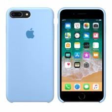 Силиконовый чехол Apple Silicone Case Sky Blue для iPhone 7 Plus / 8 Plus