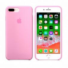 Силиконовый чехол Apple Silicone Case для iPhone 7 plus/8 plus розовый