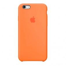 Оранжевый чехол накладка для iPhone 6/6s original