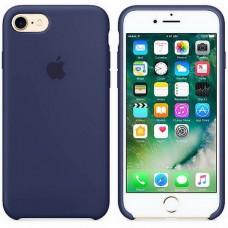 Оригинальный силиконовый чехол для iPhone 7/8 Dark Blue