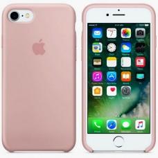 Оригинальный silicone чехол apple iphone 7/8 light silt