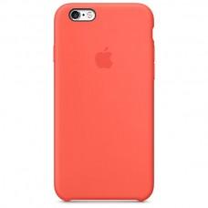 Оригинальный силиконовый чехол iPhone 6/6s apricot light