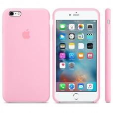 Оригинальный Силиконовый чехол iPhone 6/6S Pink
