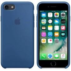 Оригинальный силиконовый чехол iphone 7/8 blue