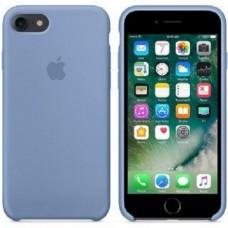 """Силиконовый чехол """"Apple Silicone"""" Azure Original iPhone 7/8"""