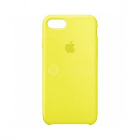 Чехол Silicone Case желтый для Apple iPhone 7/8