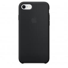 Силиконовый чехол Apple Silicone Case Black для iPhone 8/7