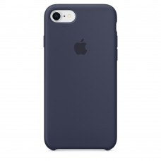 Оригинальный Силиконовый чехол Midnight Blue для Apple iPhone 8/7