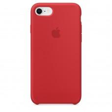 Оригинальный чехол Apple Silicone Case для iPhone 8/7 Red